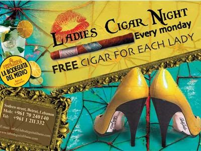 Ladies Cigar Night At La Bodeguita Del Medio