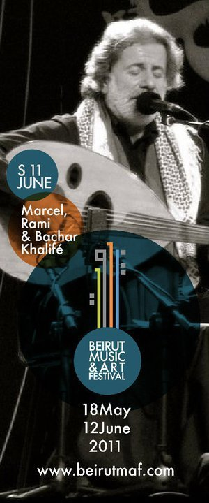 Marcel, Rami And Bachar Khalife Live In Concert