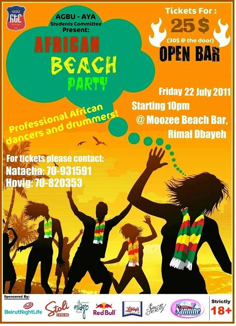 African Beach Party At Moozee