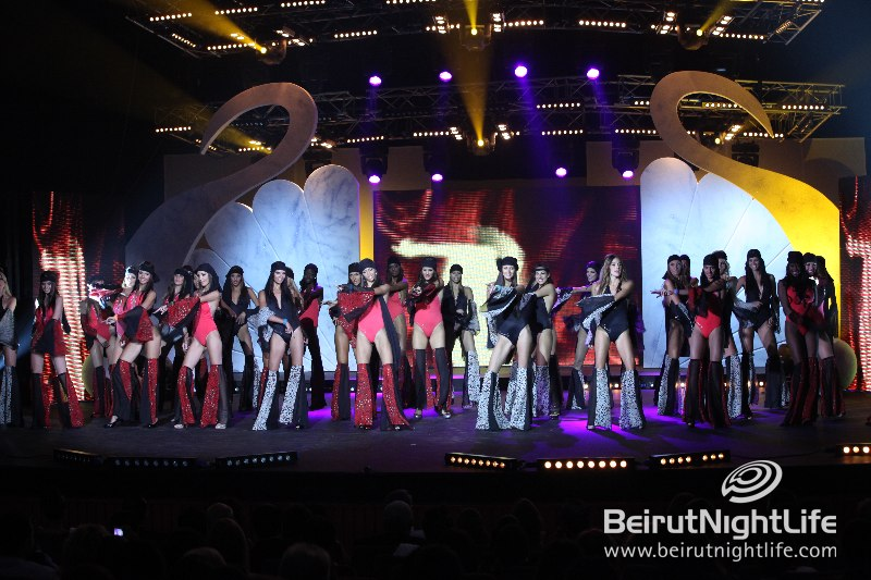 The Miss World Next Top Model 2011 at Casino Du Liban