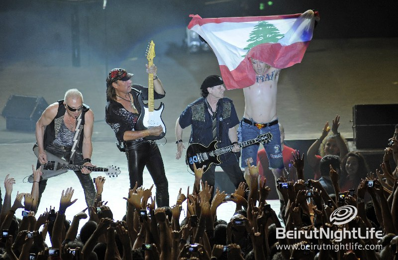 Scorpions Rock Byblos Festival and Lebanon