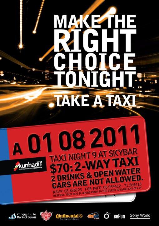 Taxi Night 9 At Sky Bar