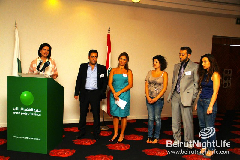 The Green Party of Lebanon