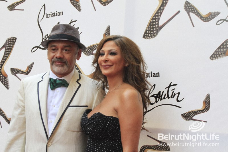 Christian Louboutin Celebrates His One-Year Anniversary in Beirut