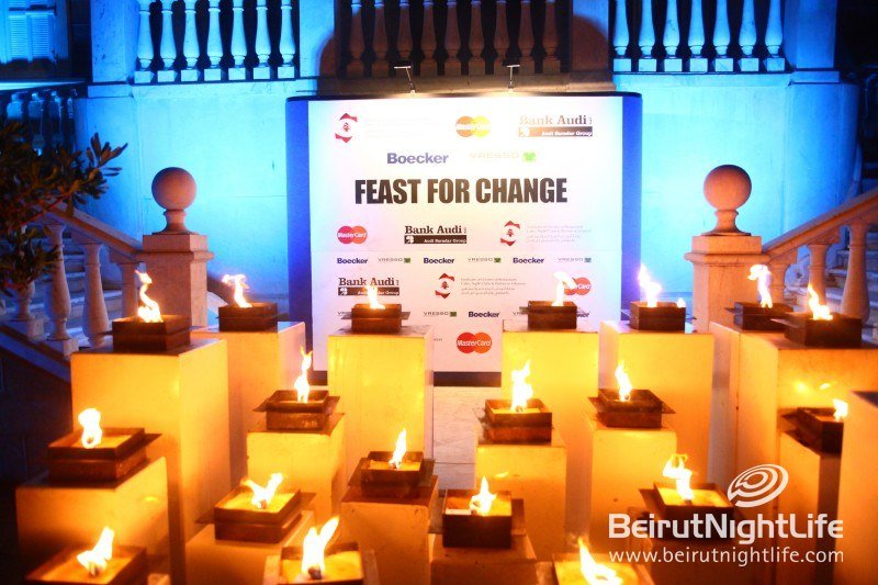 Feast For Change – An Official Food and Wine Event in Lebanon