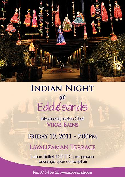 Indian Night At Edde Sands