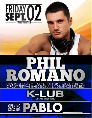 Phil Romano At K-Lub
