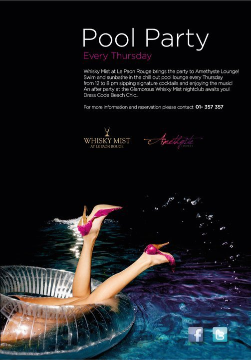 Pool Party At Amethyste