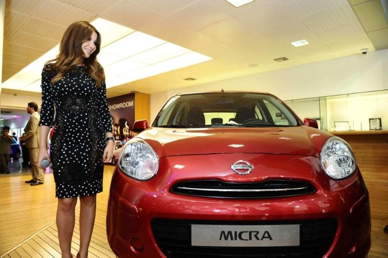 Nancy Ajram Launches the New Nissan Micra
