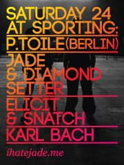 P.Toile, Jade And Diamond Setter + Guests