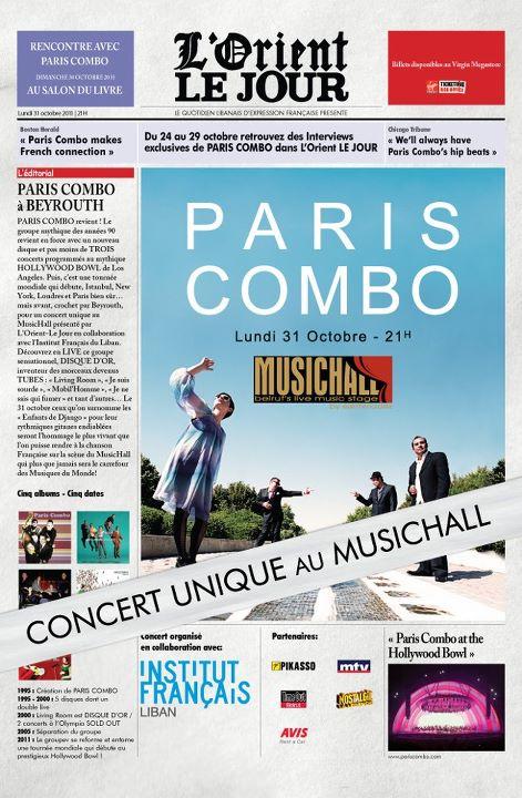 Paris Combo Live Au MusicHall