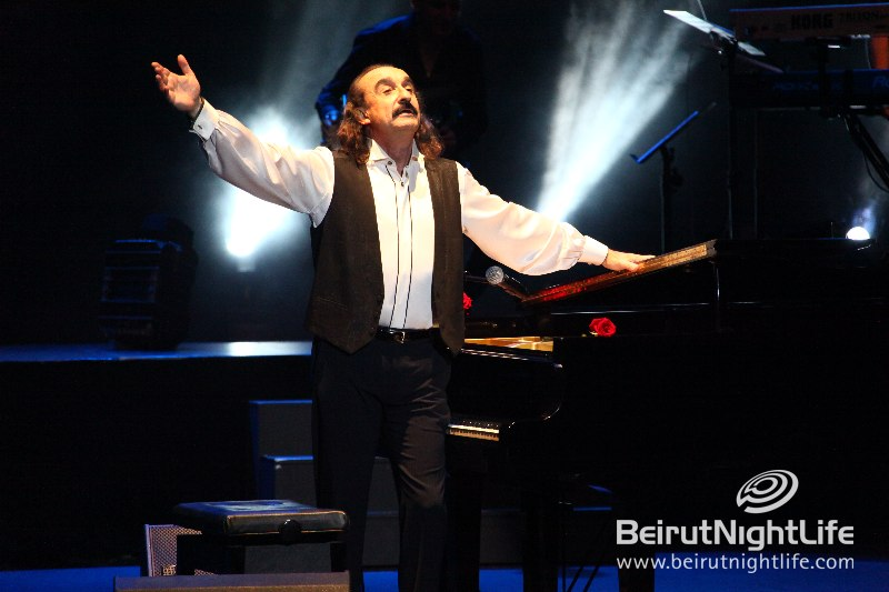 Master Pianist Raúl Di Blasio Graces Casino Du Liban