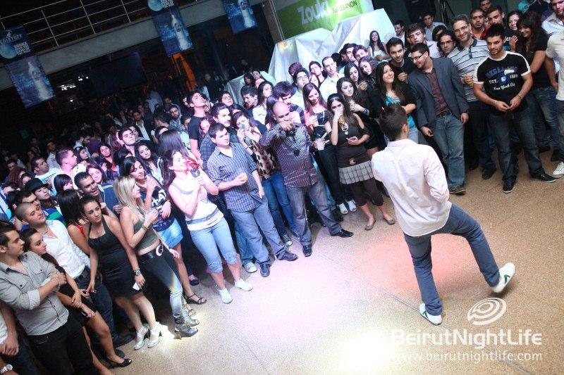 Karaoke with a Twist: The USEK Helium Karaoke Night 2011