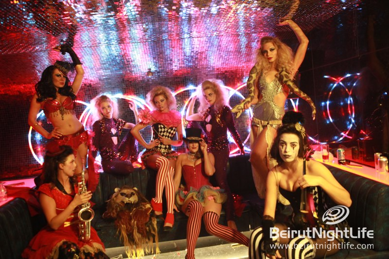 The Fabulous Cirque Du Chic Weekend Re-Opening of Whisky Mist!