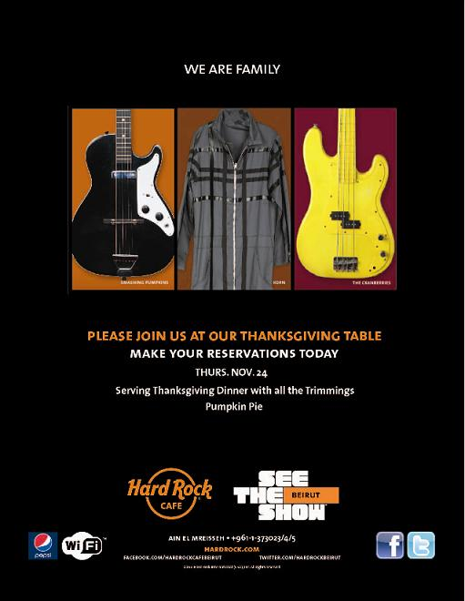 Thanksgiving At Hard Rock Cafe
