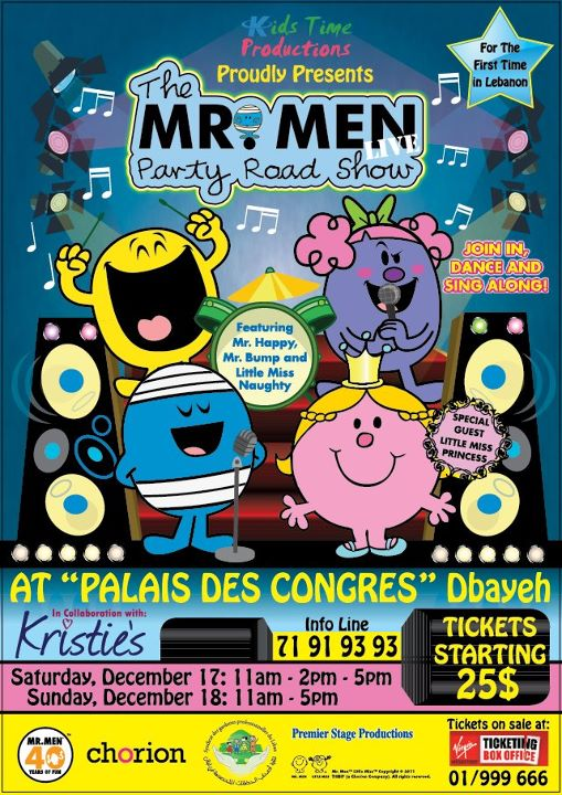 The Mr Men Little Miss Party Road Show