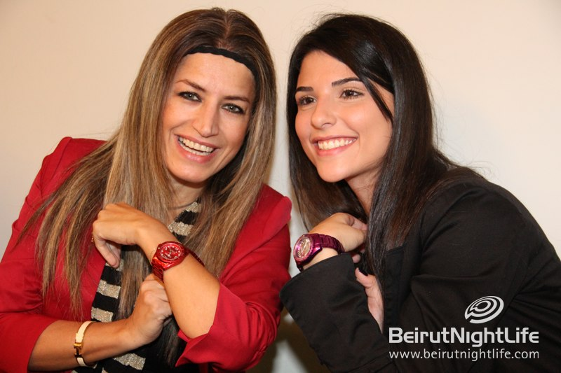 Haurex Wide Range of Colorful Watches Celebrated in Beirut