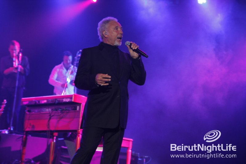 The Legendary Tom Jones Gave a Little Love to the People of Lebanon
