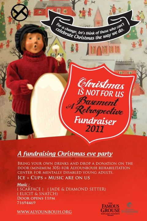 Christmas Is Not For Us: A Basement Retrospective Fundraiser At Art Lounge