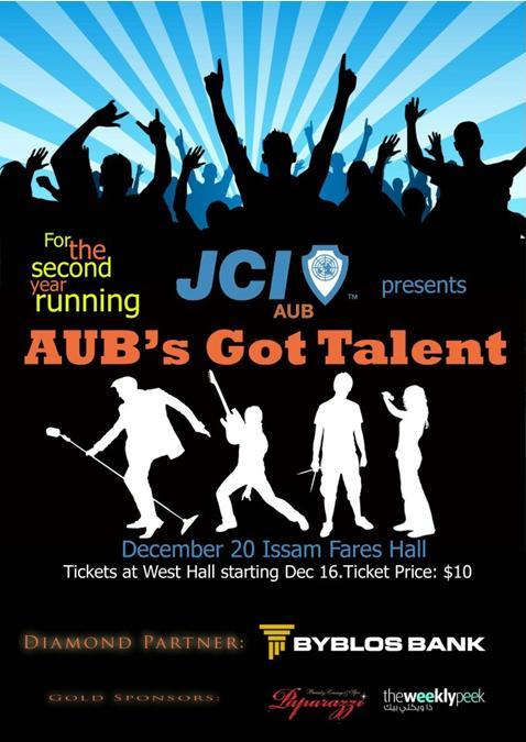 JCI AUB Presents AUB's Got Talent