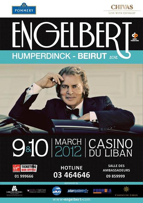 Engelbert Humperdinck At Casino du Liban
