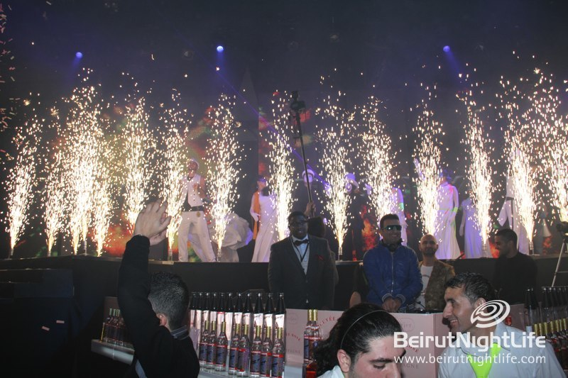 An Amazing, Wild and Glowing NYE Party: Blackout at Biel