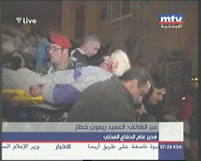 Five Storey Building Collapses in Ashrafieh