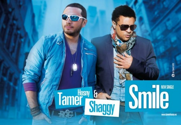 "Tamer Hosny Teams up with Shaggy in ""Smile"""