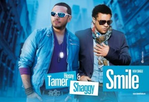 """Tamer Hosny Teams up with Shaggy in """"Smile"""""""