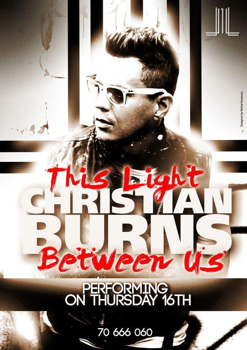 Christian Burns At Life Beirut