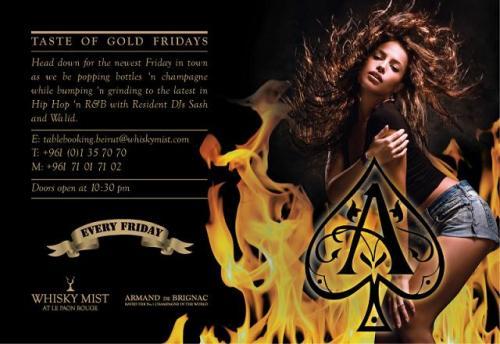 Taste Of Gold Fridays At Whisky Mist