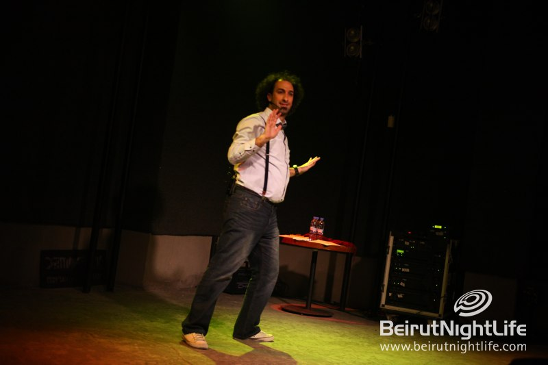 BeirutNightLife.com Laughed Out Loud with Joseph Azouri Live at DRM