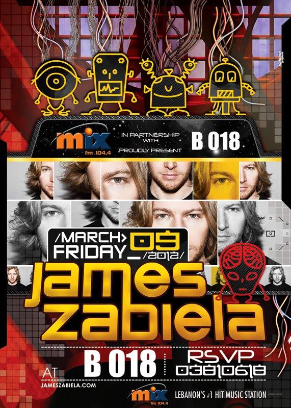 James Zabiela At B018
