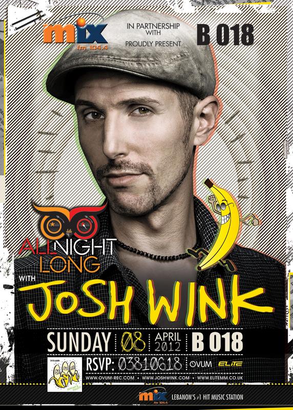 Josh Wink Live At B018