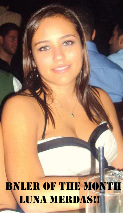 Congratulations to Luna Merdas: March BNL Reader of the Month!!