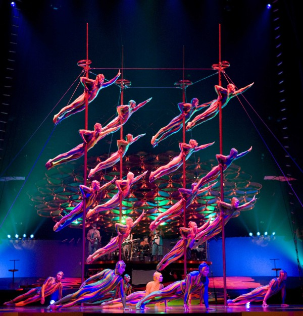 Cirque du Soleil Performs Saltimbanco in Beirut for the First Time!