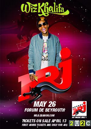 Wiz Khalifa Coming to Lebanon!