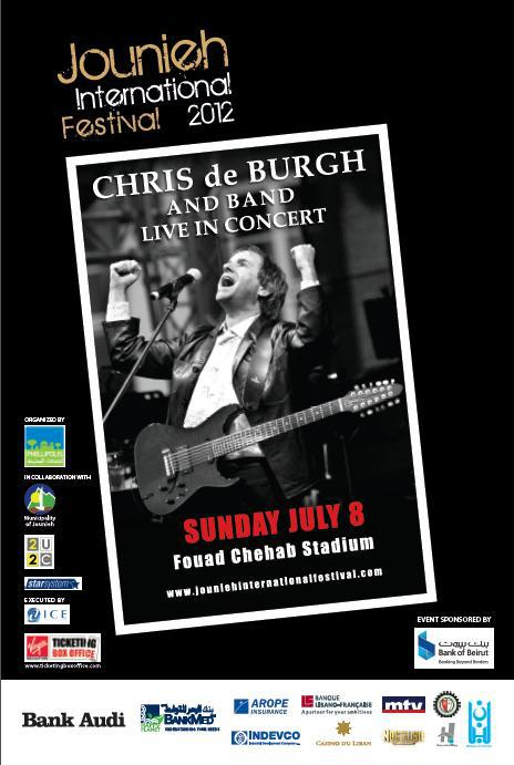 Chris De Burgh And Band Live In Concert