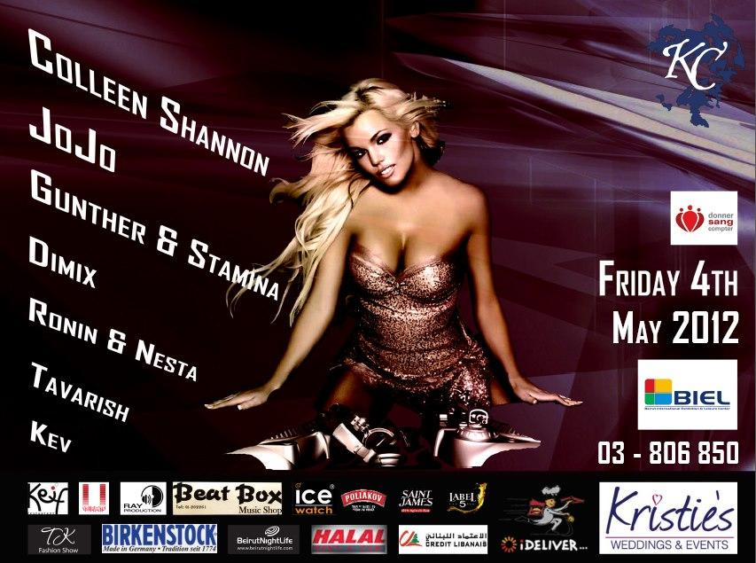 Colleen Shannon World's Sexiest DJ Live In Lebanon