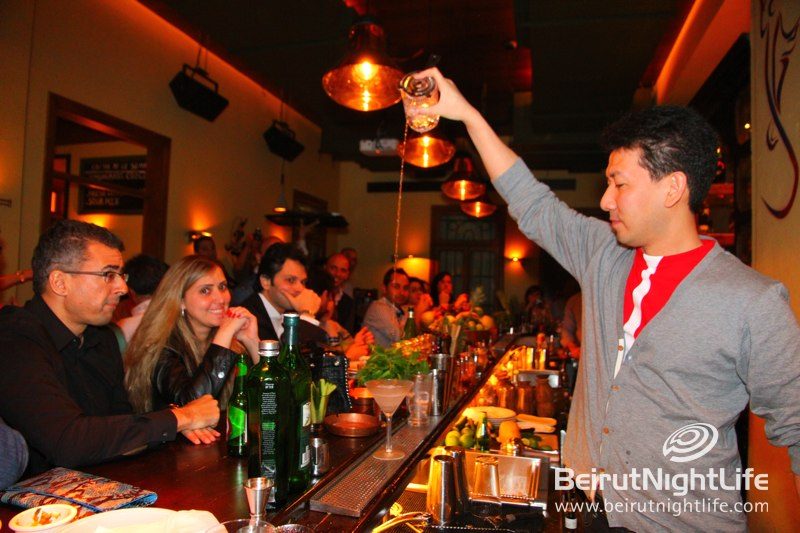 The World's Best Bartender Hits Garcia's!
