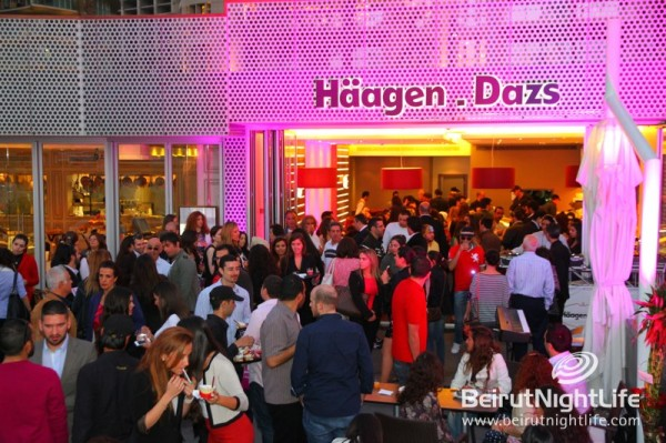 Haagen-Dazs Delicious Grand Opening on Zaitunay Bay