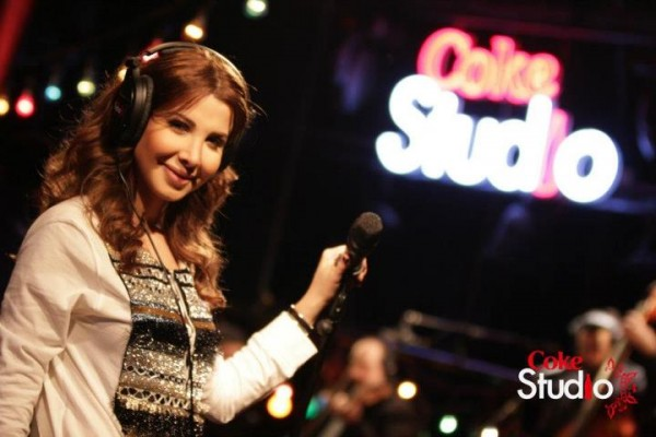 Nancy Ajram Performs on Coke Studio