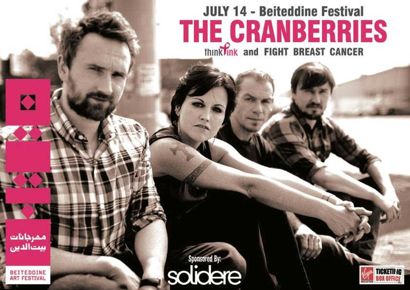 The Cranberries Live At Beiteddine – Postponed Summer Tour To Fall 2012