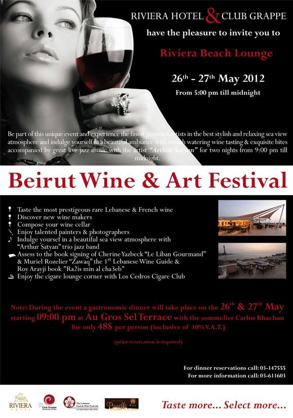 Beirut Wine And Art Festival
