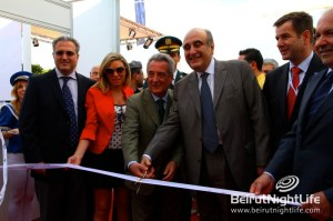 Minister of Tourism Inaugurates the 8th edition of the Beirut Boat Show 2012