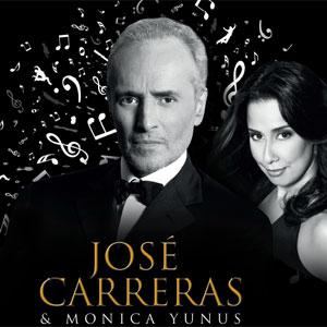 Jose Carreras And Monica Yunus Live At Zouk Mikael Festival