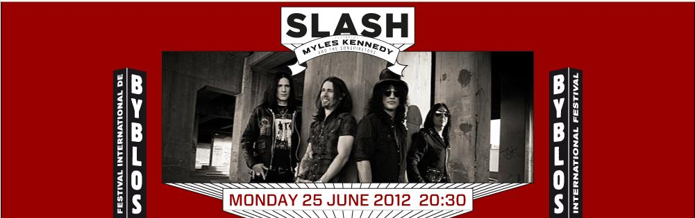 Slash Live At Byblos Festival