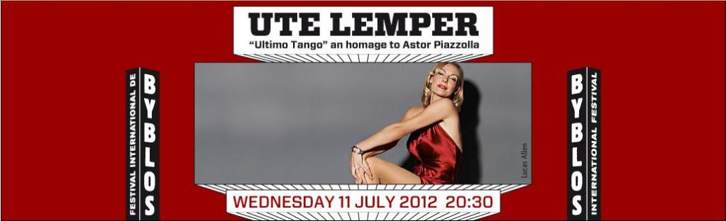 UTE Lemper Live At Byblos Festival