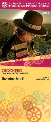 Zucchero Live At Baalbeck Festival