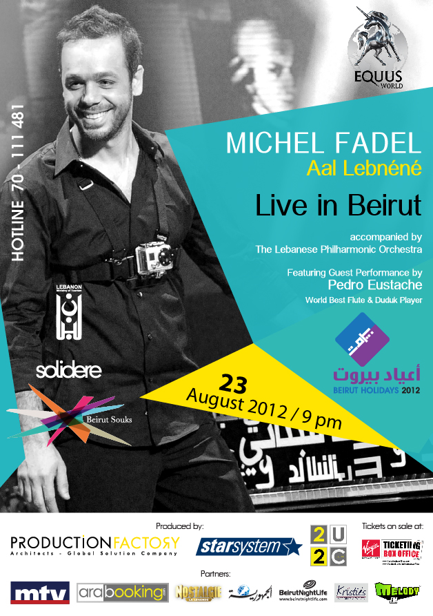 Michel Fadel Live In Beirut
